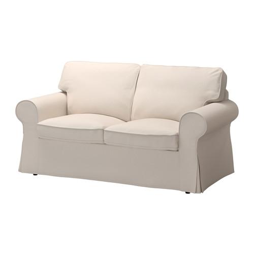 IKEA(イケア) EKTORP 2人掛け用ソファカバー ローファレット ベージュ E30321698