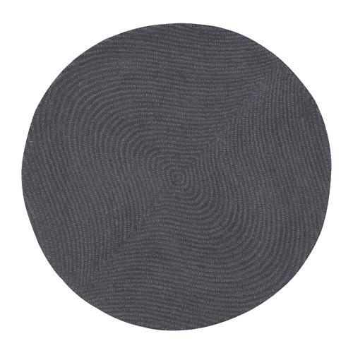 IKEA イケア VOSTRUP ヴォーストルプ ラグ パイル短 ライトグレー z30418501