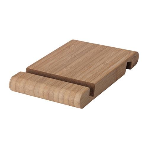 送料無料/IKEA イケア モバイルアクセサリー 携帯スタンド IKEA イケア ホルダー 携帯電話/タブレット用 竹 z70458000 BERGENES