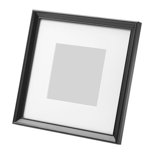 送料無料/IKEA イケア 雑貨 写真立て フォトフレーム IKEA イケア KNOPPANG フレーム 23×23cm ブラック 黒 z60387126