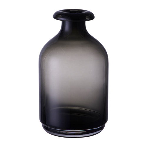 送料無料/IKEA イケア フラワーベース IKEA イケア ATGANG 花瓶 グレー d80309769