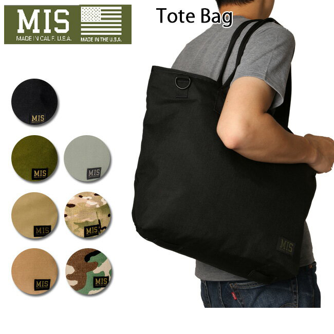 MIS バック 【MIS/エムアイエス】 トートバック Tote Bag MIS-1006 お買い得 【clapper】