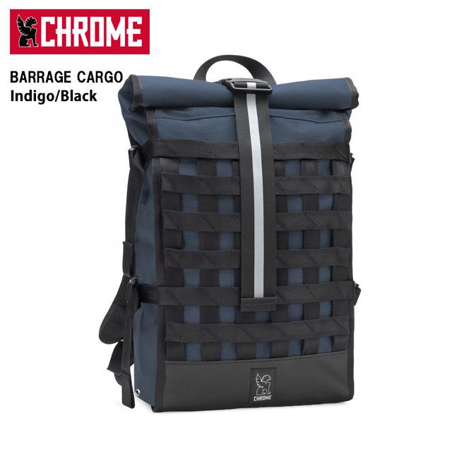 即日発送 【CHROME/クローム】 バックパック BARRAGE CARGO Indigo/Black/BG163 【カバン】日本正規品 お買い得