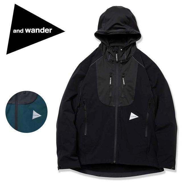 ★ and wander アンドワンダー trek jacket 2 AW91-FT011 【アウトドア/メンズ/アウター】