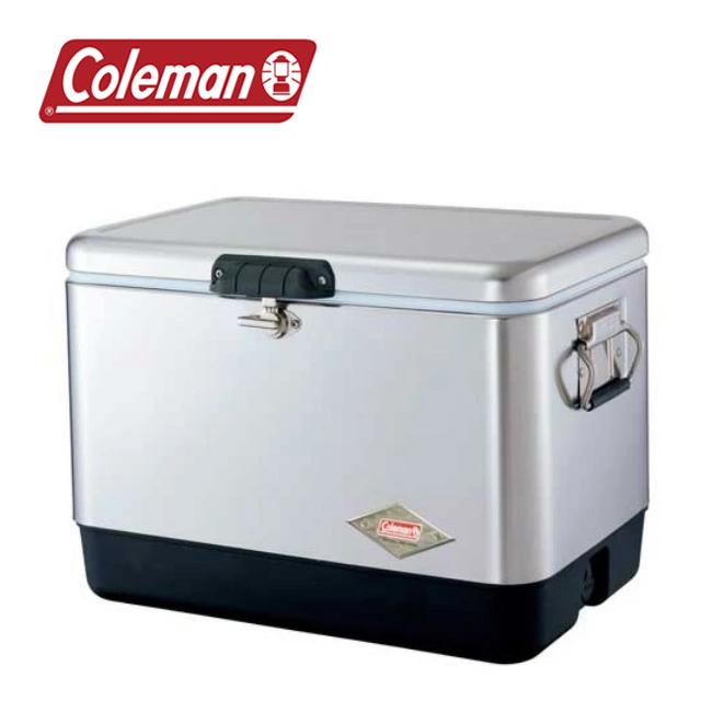 Coleman コールマン 54QT スチールベルト(R)クーラー 3000001343 【アウトドア/キャンプ/イベント/クーラーボックス】