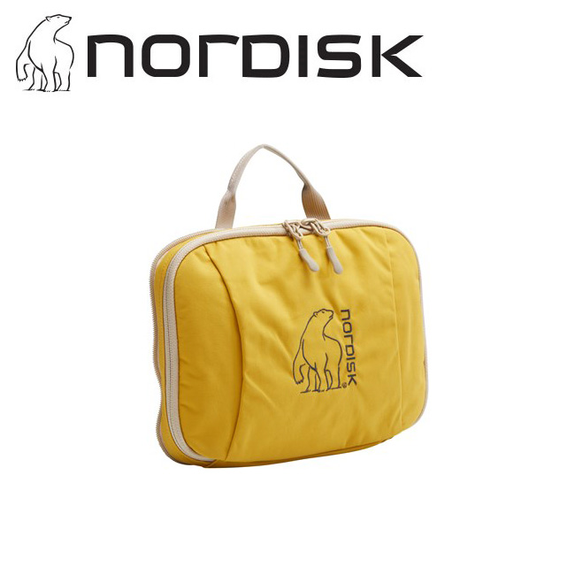 NORDISK ノルディスク Yggdrasil Pocket (Mustard) ユグドラシルポケット 148095 【オーガナイザー/仕分け/ポーチ/旅行/トラベル】【メール便・代引不可】