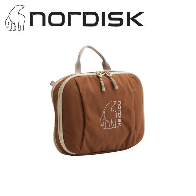 NORDISK ノルディスク Yggdrasil Pocket (Chocolate) ユグドラシルポケット 148097 【オーガナイザー/仕分け/ポーチ/旅行/トラベル】【メール便・代引不可】