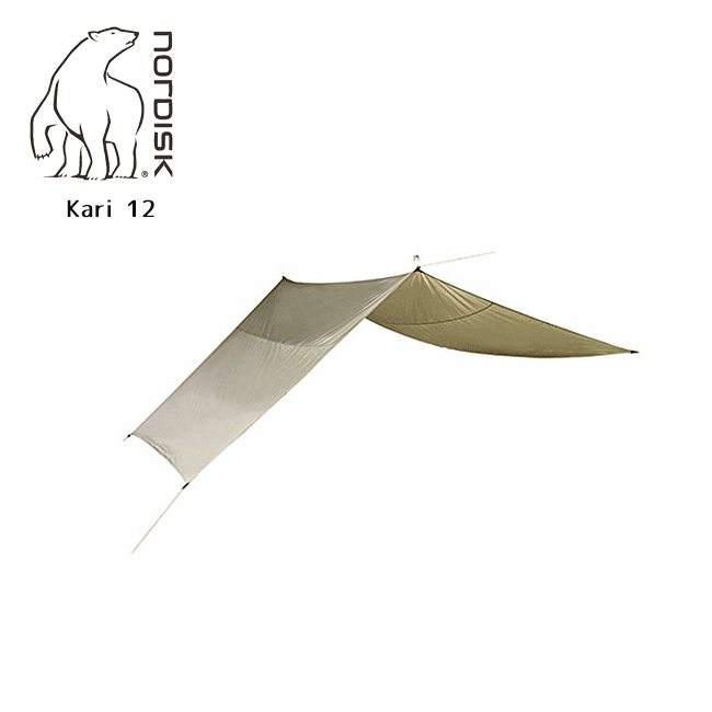 NORDISK ノルディスク Kari 12 (カーリ12) 242017 【防水シート/タープ/アウトドア/キャンプ】 142017