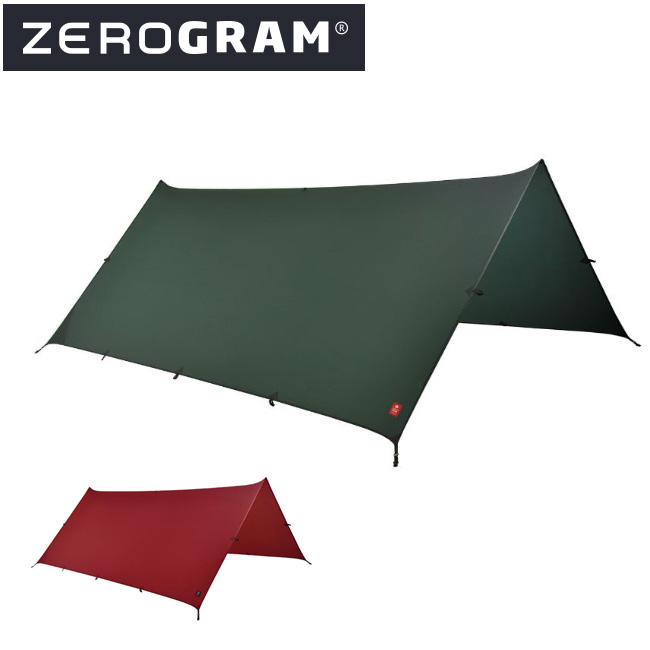 ZEROGRAM ゼログラム Minimalist II Sil-Tarp 【タープ/日よけ/アウトドア/キャンプ】