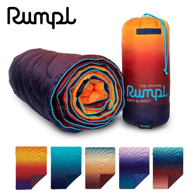 Rumpl ランプル PRINTED PUFFY BLANKETS THROW 3IP-RMP-191009 【アウトドア/キャンプ/車中泊/ブランケット/膝掛】