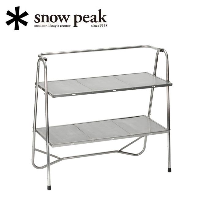 snowpeak スノーピーク ステンレスキッチンテーブル LV-310 【キッチンテーブル/調理/アウトドア/キャンプ】