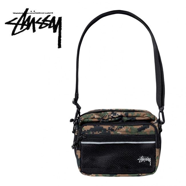 STUSSY ステューシー DIGI CAMO SHOULDER BAG 134201 【アウトドア/ショルダーバッグ/肩掛け/鞄】