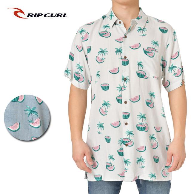 RIP CURL リップカール MELONS SS SHIRT T01-121 【シャツ/半袖/ファッション/アウトドア/リゾート/タウンユース】