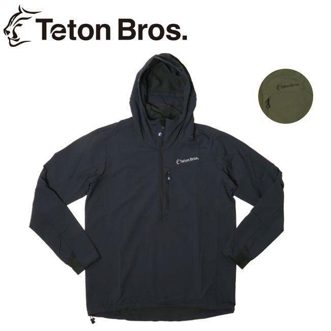 【期間限定エントリーでP7倍! 8月4日20時から】Teton Bros ティートンブロス Long Trail Anorak (Men) TB191-100 【アウター/アノラック/トレイル/ランニング/ハイキング/クライミング/撥水性】