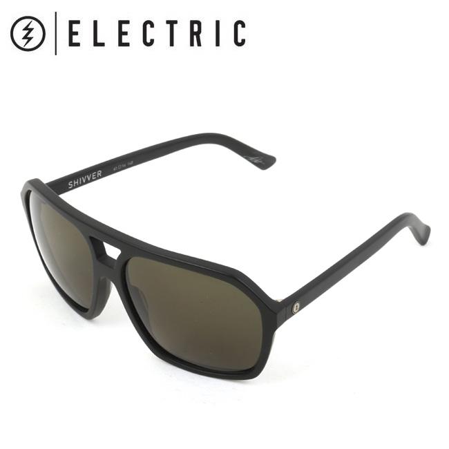 ELECTRIC エレクトリック SHIVVER MATTE BLACK SV33 【日本正規品/サングラス/海/アウトドア/キャンプ/フェス/サーフィン/スノーボード】