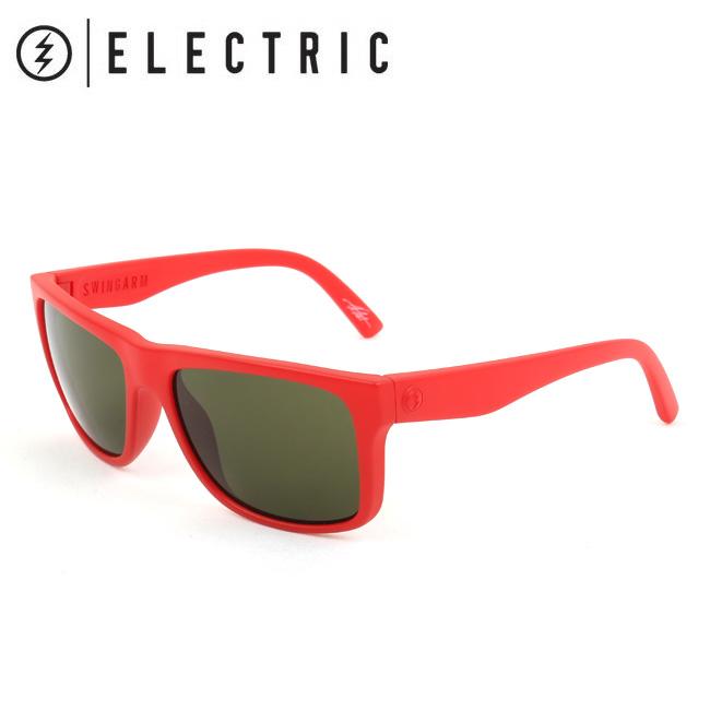 ELECTRIC エレクトリック SWING ARM ALPINE RED SW10 【日本正規品/サングラス/海/アウトドア/キャンプ/フェス/サーフィン/スノーボード】