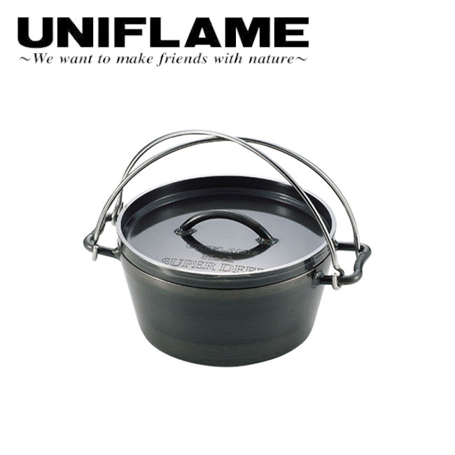 UNIFLAME ユニフレーム UFダッチオーブン8インチ 660935 【ダッチオーブン/アウトドア/キャンプ/BBQ/料理/調理】