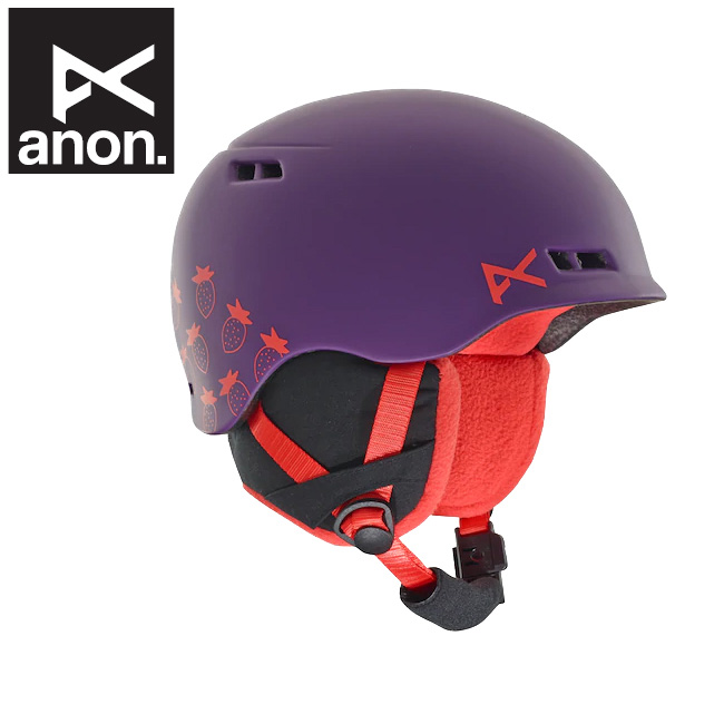 2019 anon アノン Burner Helmet Purple 133301 【日本正規品/ヘルメット/メンズ】