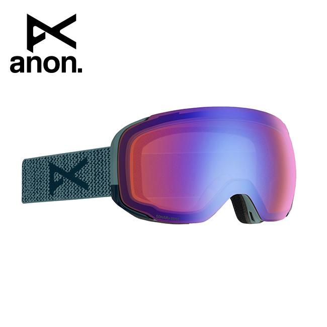 2020 anon アノン M2 Goggle Asian Fit With Bonus Lens /Lay Back / SONAR Blue 185561 【スぺアレンズ/ゴーグル/日本正規品/メンズ】