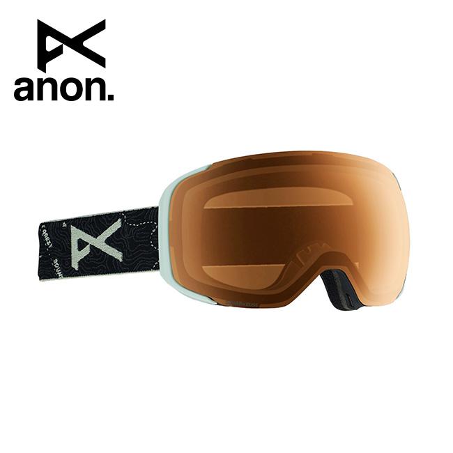 2020 anon アノン M2 Goggle Asian Fit With Bonus Lens /Topo Black / SONAR Night 185561 【スぺアレンズ/ゴーグル/日本正規品/メンズ】