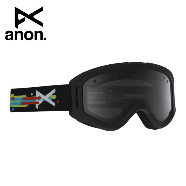 2020 anon アノン Tracker Goggle Asian Fit Hurrrl / Smoke 185261 【スぺアレンズ/ゴーグル/日本正規品/キッズ/ジュニア】