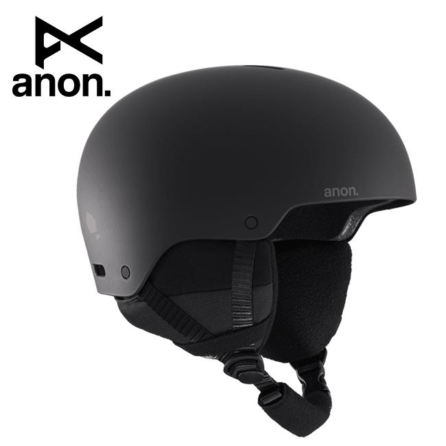 2020 anon アノン Raider 3 Asian Fit Black 215231 【ヘルメット/日本正規品/メンズ】