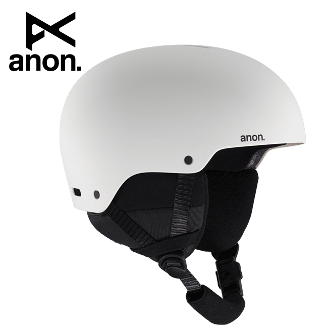 2020 anon アノン Rime 3 Asian Fit White 215251 【ヘルメット/日本正規品/キッズ/ジュニア】