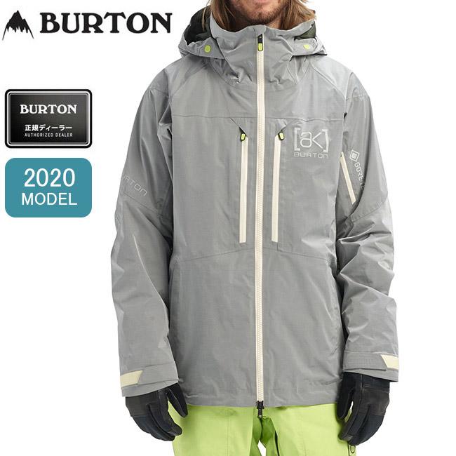 ★ 2020 BURTON バートン AK 2L GORE-TEX Swash Jacket SILVER スワッシュジャケット 100011 【スノーボードウェア/スノーボード/日本正規品/メンズ】