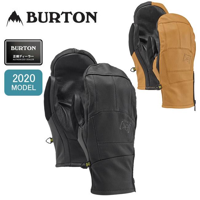 2020 BURTON バートン AK Leather Tech Mitten レザーテックミトン 131671 【手袋/グローブ/スノーボード/日本正規品/メンズ】