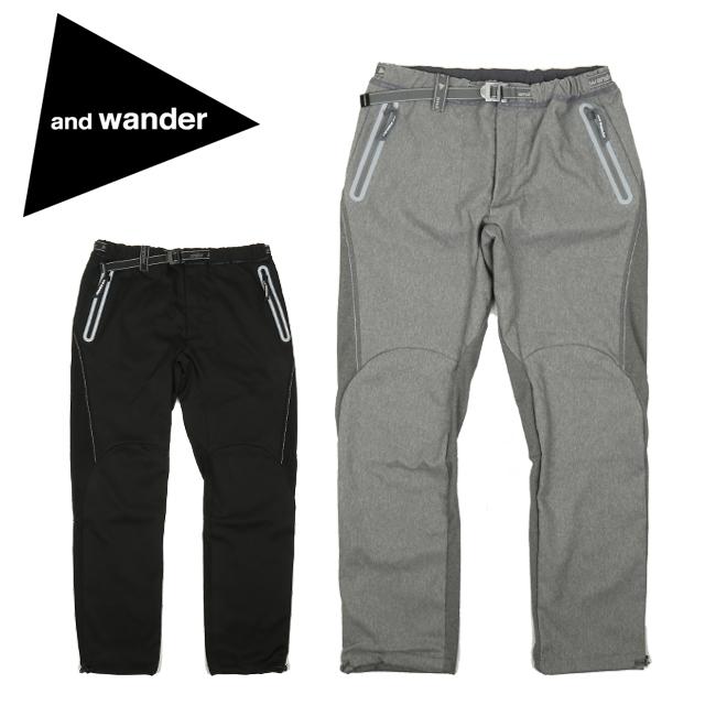and wander アンドワンダー air hold pants AW93-FF090 【パンツ/メンズ/アウトドア】