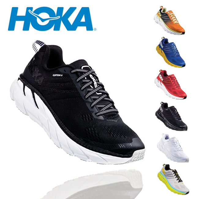 HOKA ONE ONE ホカオネオネ CLIFTON 6 クリフトン 6 1102872 【スニーカー/靴/メンズ/アウトドア】