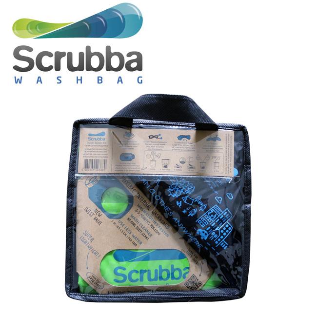Scrubba スクラバ Wash and Dry Kit ウォッシュ ドライキット SU003 【洗濯/洗濯機/アウトドア/キャンプ】
