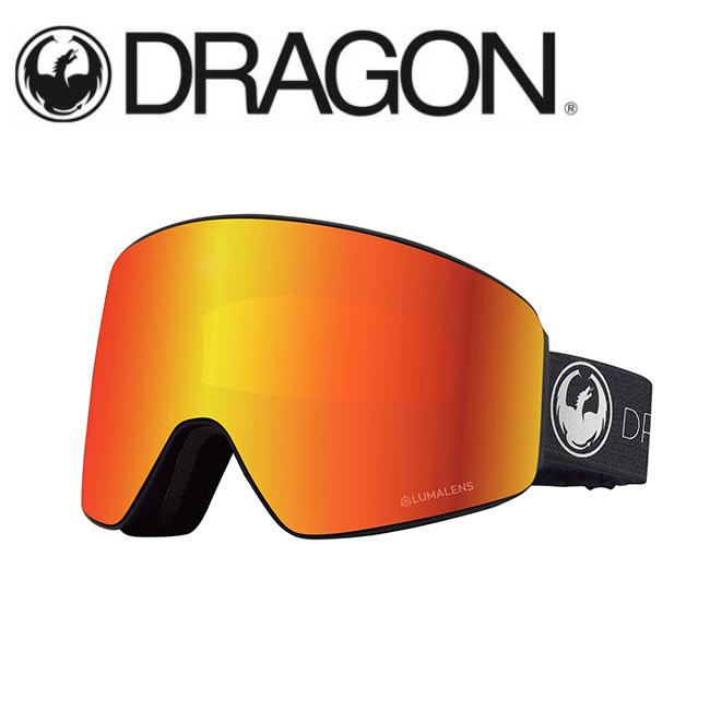 DRAGON ドラゴン PXV ECHO SILVER/LUMALENS J. RED ION 【2020/ゴーグル/日本正規品/ジャパンフィット】