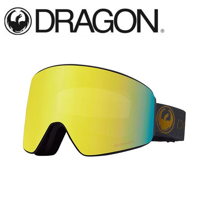DRAGON ドラゴン PXV ECHO GOLD/LUMALENS J. GOLD ION 【2020/ゴーグル/日本正規品/ジャパンフィット】