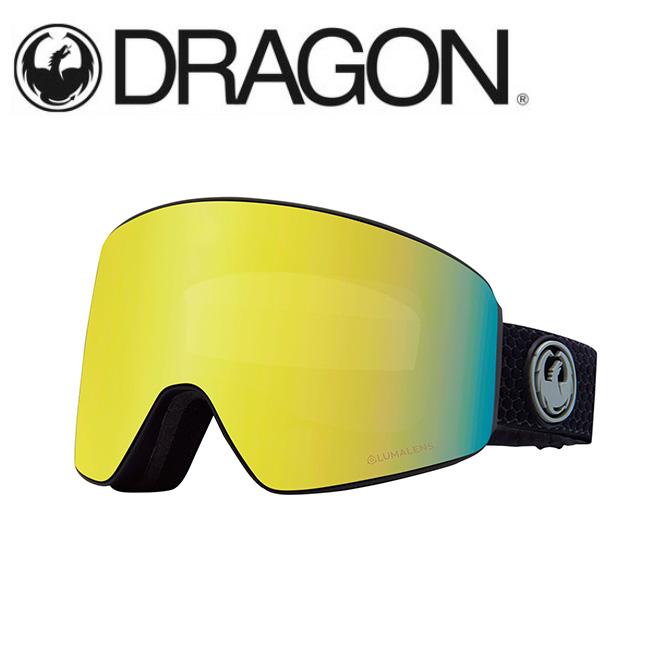 DRAGON ドラゴン PXV SPLIT GREY/LUMALENS J. GOLD ION 【2020/ゴーグル/日本正規品/ジャパンフィット】