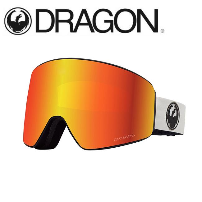 DRAGON ドラゴン PXV WHITE/LUMALENS J. RED ION 【2020/ゴーグル/日本正規品/ジャパンフィット】