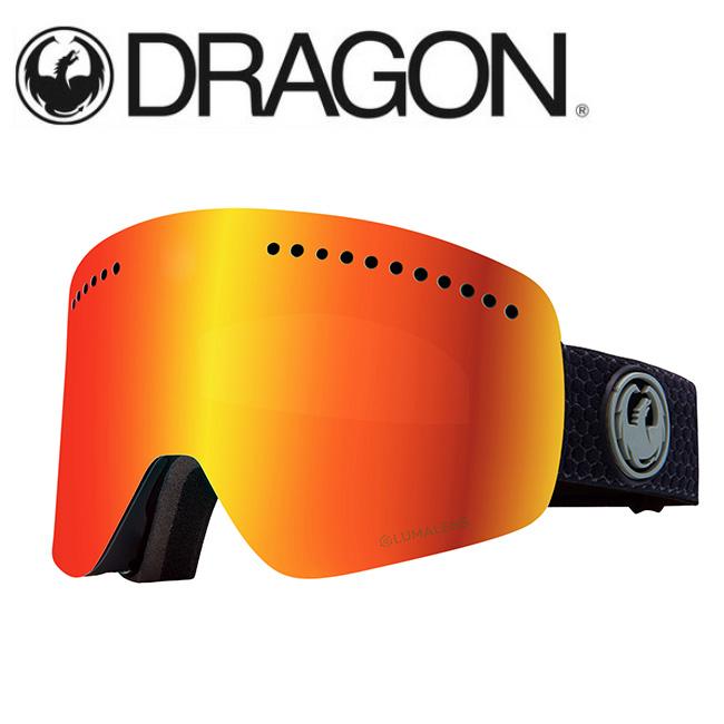 DRAGON ドラゴン NFX SPLIT GREY/LUMALENS J. RED ION 【2020/ゴーグル/日本正規品/ジャパンフィット】