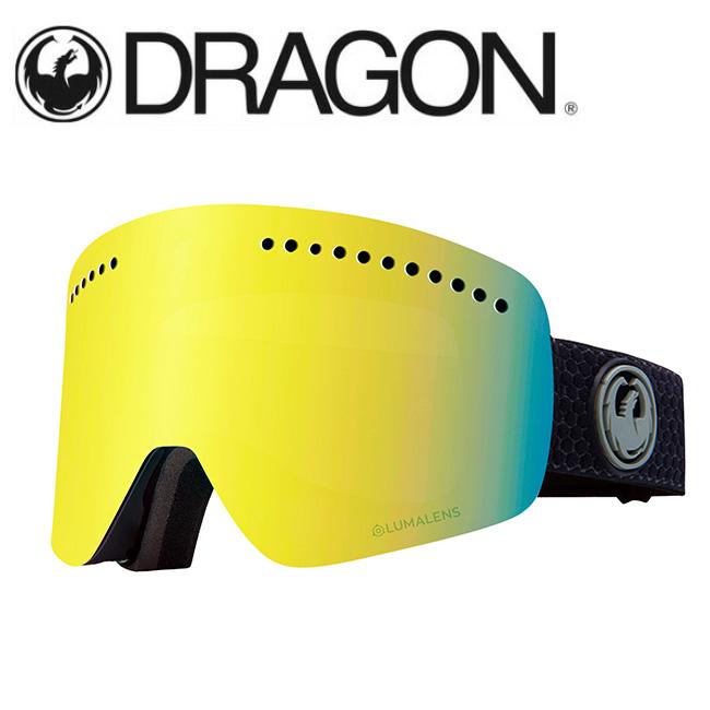 DRAGON ドラゴン NFX SPLIT GREY/LUMALENS J. GOLD ION 【2020/ゴーグル/日本正規品/ジャパンフィット】