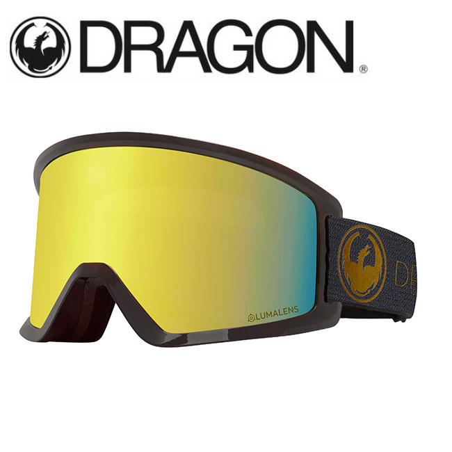 DRAGON ドラゴン DX3 ECHO GOLD/LUMALENS J. GOLD ION 【2020/ゴーグル/日本正規品/ジャパンフィット】