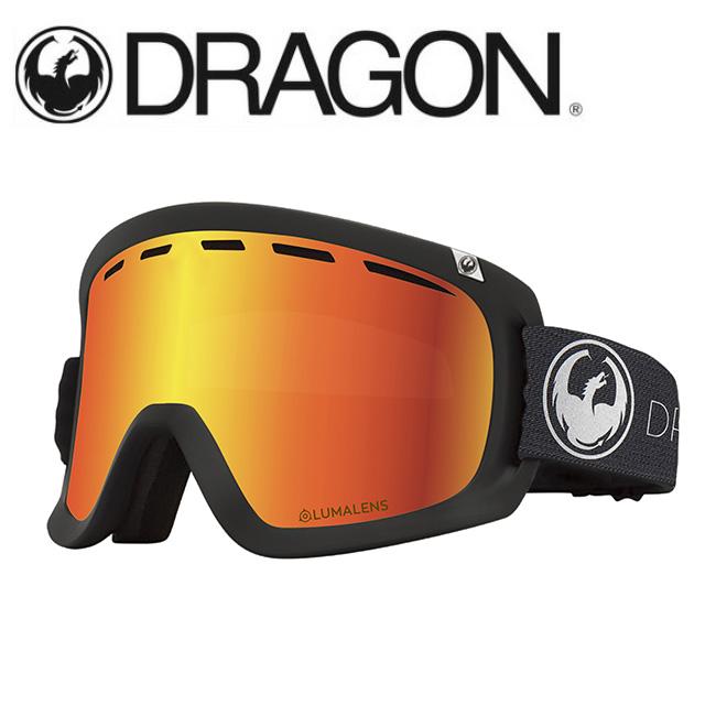 DRAGON ドラゴン D1 ECHO SILVER/LUMALENS J. RED ION 【2020/ゴーグル/日本正規品/ジャパンフィット】