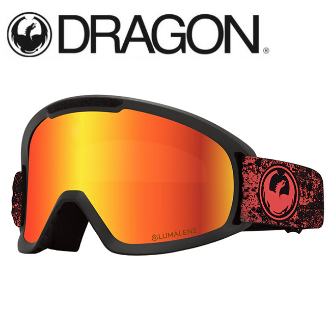 DRAGON ドラゴン DX2 ENERGY SCARLET/LUMALENS J. RED ION 【2020/ゴーグル/日本正規品/ジャパンフィット】