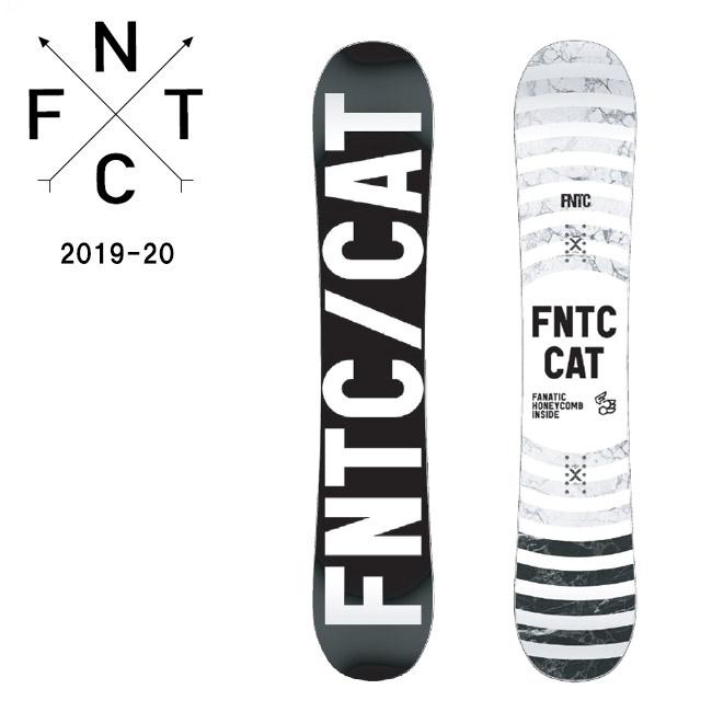 2020 FNTC エフエヌティーシー CAT 【板/スノーボード/日本正規品】