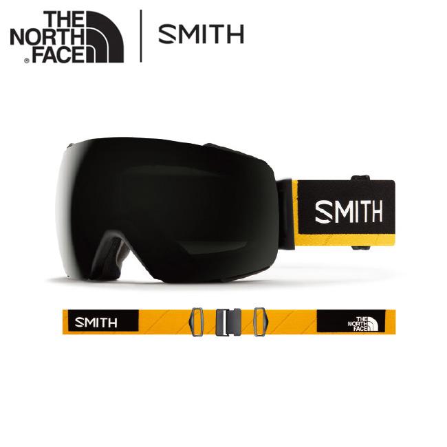 2020 スミス SMITH OPTICS I/O MAG AC | AUSTIN SMITH x THE NORTH FACE CP Sun Black / CP Storm Rose Flash 【日本正規品/アジアンフィット/ノースフェイス/コラボ】