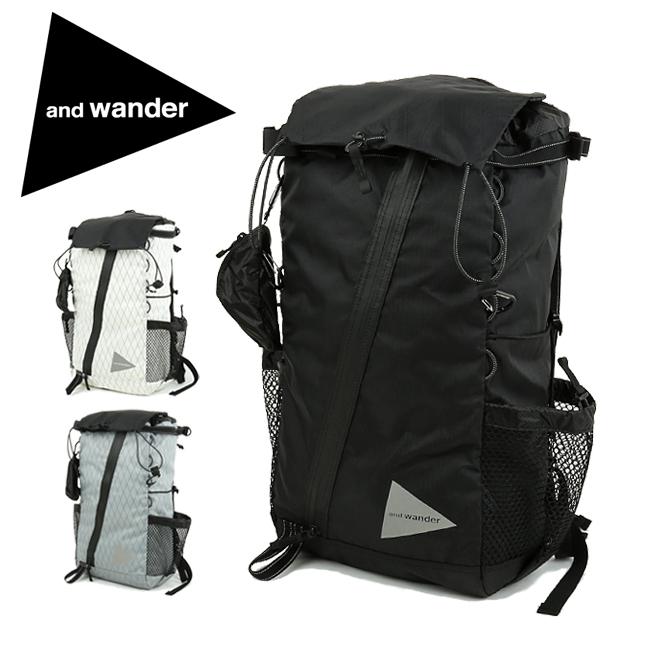 【期間限定エントリーでP7倍! 8月4日20時から】and wander アンドワンダー X-Pac 30L backpack エックスパック バックパック AW-AA651 【リュック/アウトドア/レジャー/鞄/軽量】