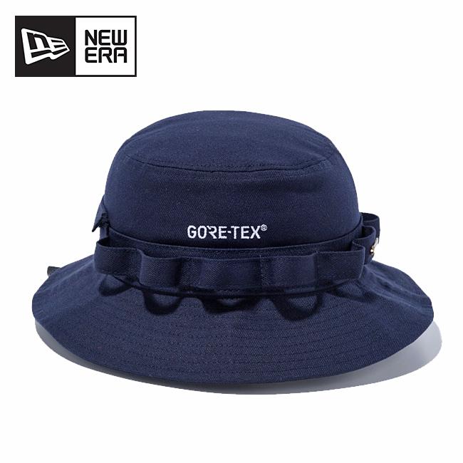 NEWERA ニューエラ アドベンチャー GORE-TEX ゴアテックス ロゴ ネイビー 12108490 【ハット/アウトドア/おしゃれ】