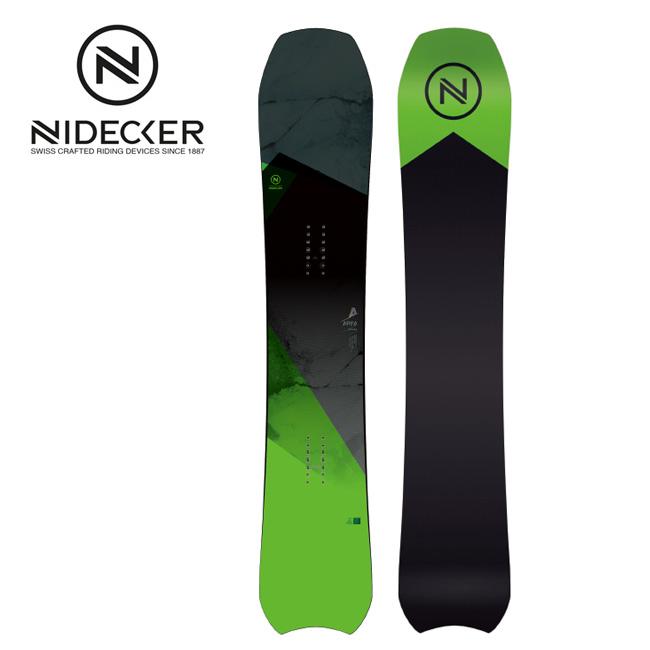 2020 NIDECKER ナイデッカー AREA エリア 【2020/スノーボード/スノー/日本正規品/FLOW】