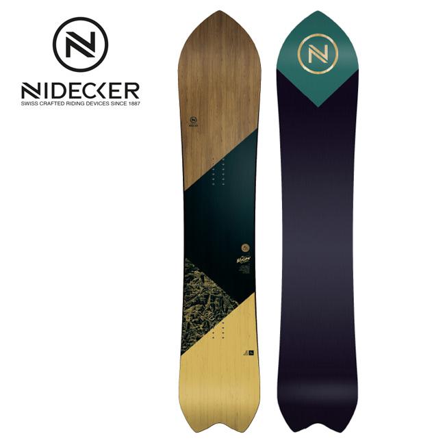 2020 NIDECKER ナイデッカー MELLOW メロー 【2020/スノーボード/スノー/日本正規品/FLOW】