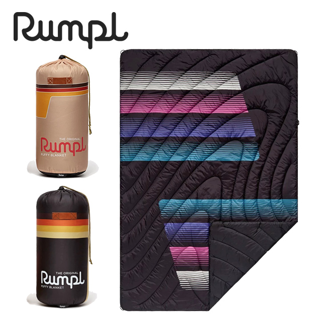 ★ Rumpl ランプル ORIGINAL PUFFY BLANKET PRINTS 1 オリジナルパフィーブランケットプリント 3IP-RMP-193004 【アウトドア/キャンプ/掛け布団/車中泊/膝掛】