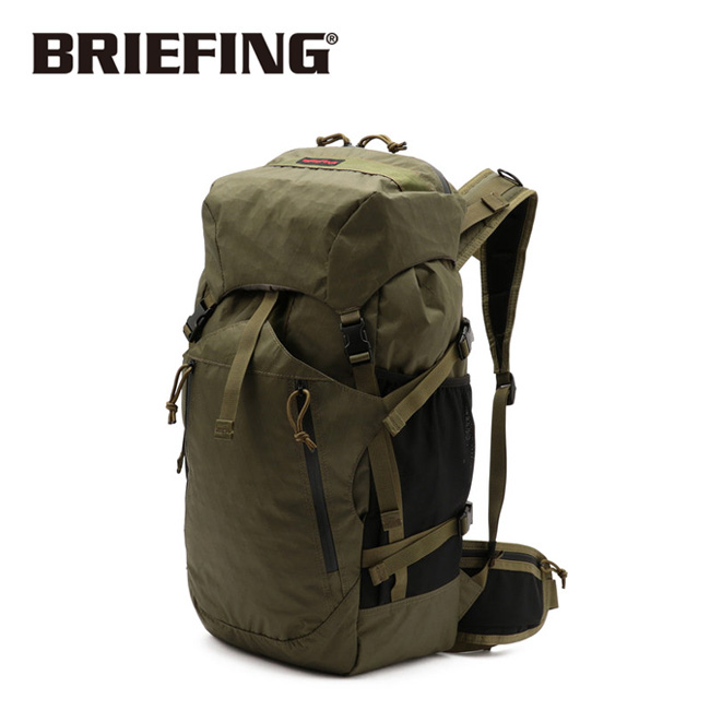 BRIEFING ブリーフィング VERSATILE PACK XP ヴァーサタイルパック OLIVE BRM191P42【アウトドア/リュック/鞄/キャンプ/ハイキング】