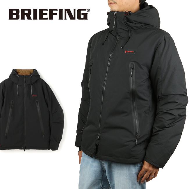 ★ BRIEFING ブリーフィング SLIDING WP DOWN JACKET スライディングダウンジャケット BRM193M05 【フード/長袖/アウター/ウェア/ジャケット】
